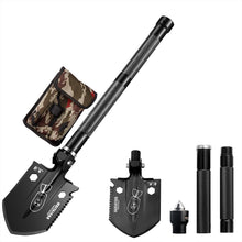 Load image into Gallery viewer, Portable Military Folding Shovel