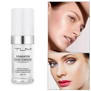 TLM™ Color Changing Foundation(All Day Flawless) - Suitable For All Skin Tones