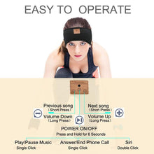 Load image into Gallery viewer, Wireless Bluetooth Headband Side Sleeper Music Phone Motorcycling(Buy 2 Get 10% OFF)