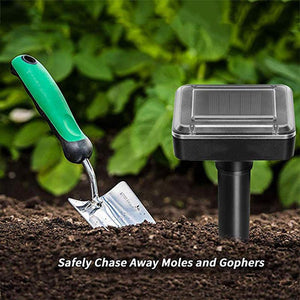 Solar Remover Spikes for Lawn Garden Yard