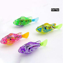 Load image into Gallery viewer, Interactive Swimming Robot Fish Toy(4 pcs)