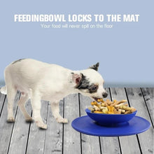 Load image into Gallery viewer, Silicone Suction Pet Feeding Bowl Mat