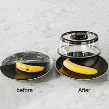 Load image into Gallery viewer, Press N Fresh Vacuum Seal Food Lid - Preserves Cut Fruit/Leftover Food