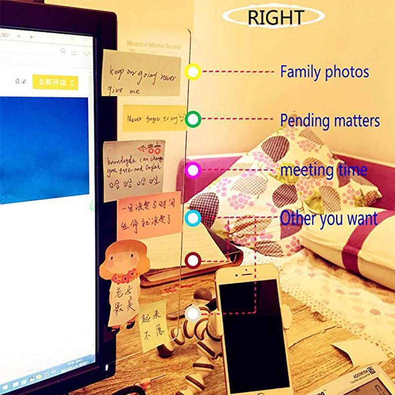 Memo Board(Left&Right+  Sticky Notes)