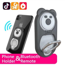 Load image into Gallery viewer, Cell Phone Ring Holder and Bluetooth Remote