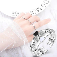 Load image into Gallery viewer, 3-in-1 Elegant Four Leaf Clover Ring