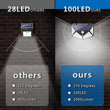 Load image into Gallery viewer, Upgraded 100 LED Solar Lights Outdoor