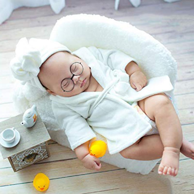 Newborn Baby Bathrobe Photo Suit
