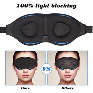 Eye Mask for Sleeping 3D Contoured Cup