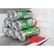 Load image into Gallery viewer, Bottle Can Storage Stacker Rack