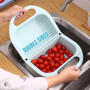 Folding Vegetable Fruit Washing Basket