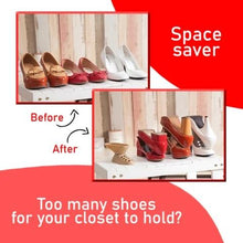 Load image into Gallery viewer, SPACE SAVING SHOE STORAGE DEVICE