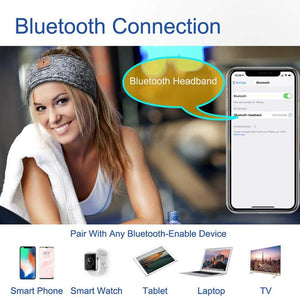 Wireless Bluetooth Headband Side Sleeper Music Phone Motorcycling(Buy 2 Get 10% OFF)