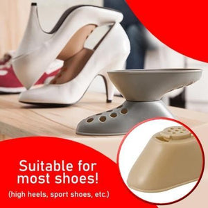 SPACE SAVING SHOE STORAGE DEVICE
