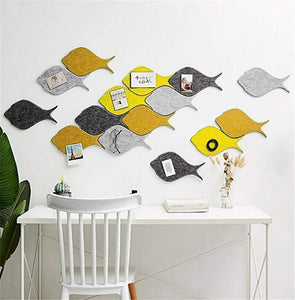Acoustic decorative wall sticker