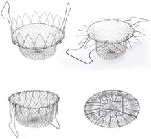 Load image into Gallery viewer, Foldable Fry Basket