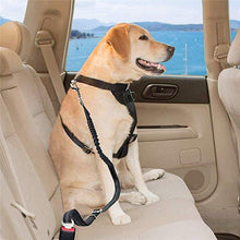 Load image into Gallery viewer, Pet Dog Cat Car Seat Belt Safety Tether