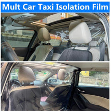 Load image into Gallery viewer, Car Taxi Anti-Fog Isolation Film