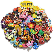 Load image into Gallery viewer, 100pcs Random PVC Different Shoe Charms