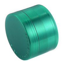 "Load image into Gallery viewer, Golden Bell 4 Piece 2"" Spice Herb Grinder - Green"