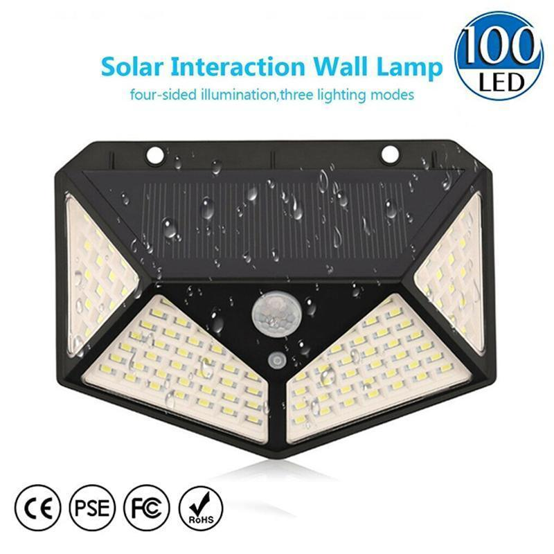 Upgraded 100 LED Solar Lights Outdoor