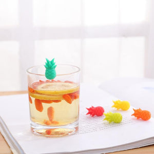 Pineapple Model Glass Marker 6pcs Set