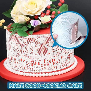 DIY Cake Lace Decoration Mould - Set For 8