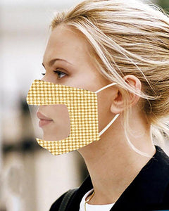 STUDDED EAR LOOP BREATHABLE MOUTH MASK REUSABLE(BUY 2 GET 10% OFF)