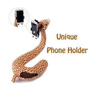 2 In 1 Animal U Shaped Neck Pillow&Lazy Phone Holder - HahaGet Edit Alt tag: