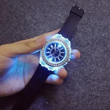 Load image into Gallery viewer, Led luminous watch couple watch