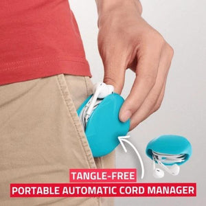 Portable Automatic Cord Manager