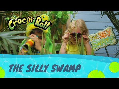 Spin Master Croc and Roll Game Silly Swamp - the entertainer egypt