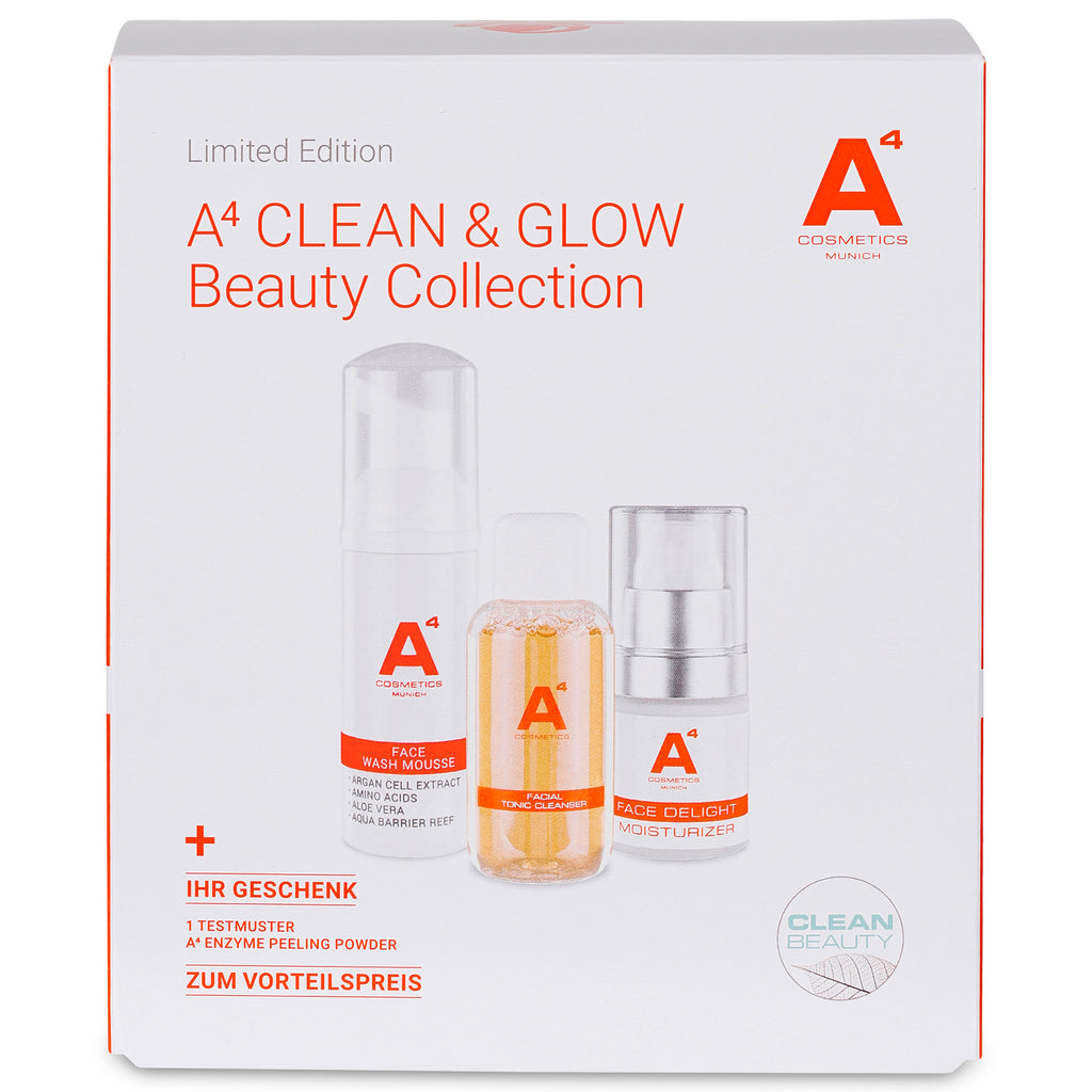 A4 CLEAN & GLOW Beauty Collection | Limited Edition | Set mit 20% Preisvorteil
