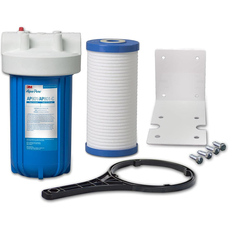 3M Home Water Filtration IAS801F - Whole House Sediment Filtration System (Small) Upto 75 LPM 3M