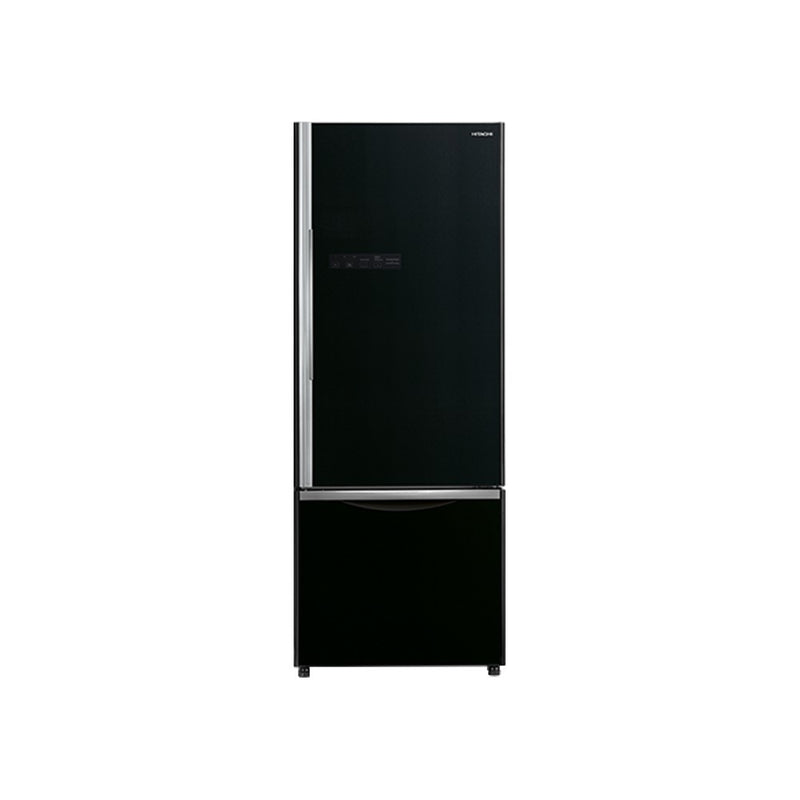Hitachi RB570PND7 525 L Frost Free Refrigerator (Glass Black) Hitachi