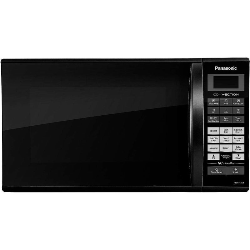 Panasonic 27L Convection Microwave Oven(NN-CT645BFDG,Black, Magic Grill) Panasonic