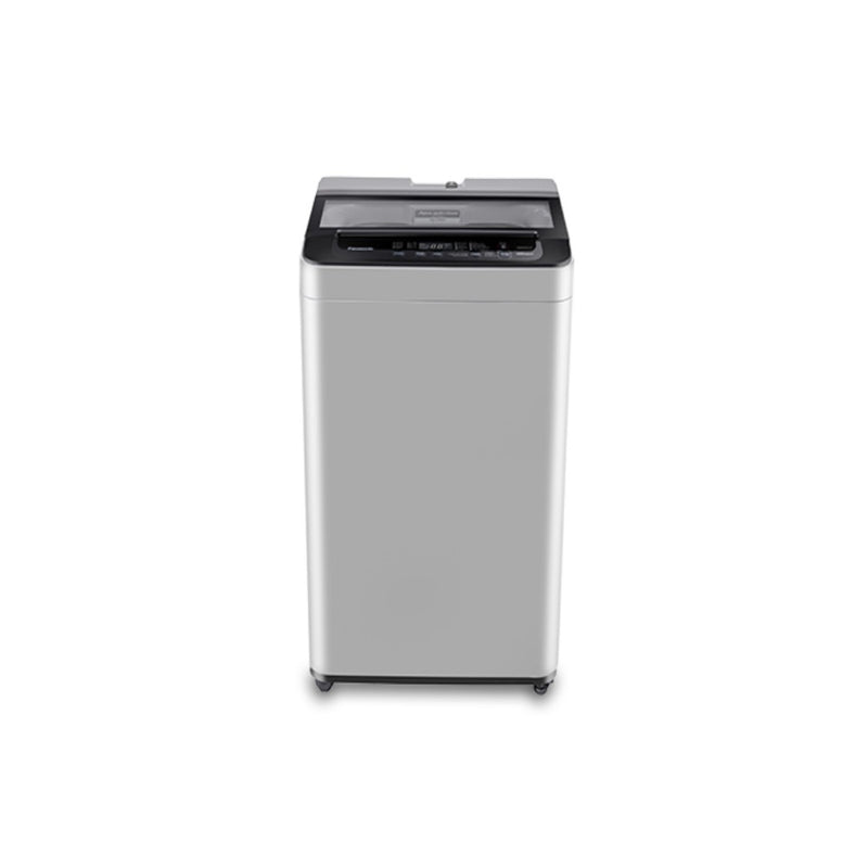 Panasonic NA-F72L8MRB - Full Automatic Top Load Washing Machine 7.2 KG Top Loading Washing Machine.(MIDDLE FREE SILVER) Panasonic