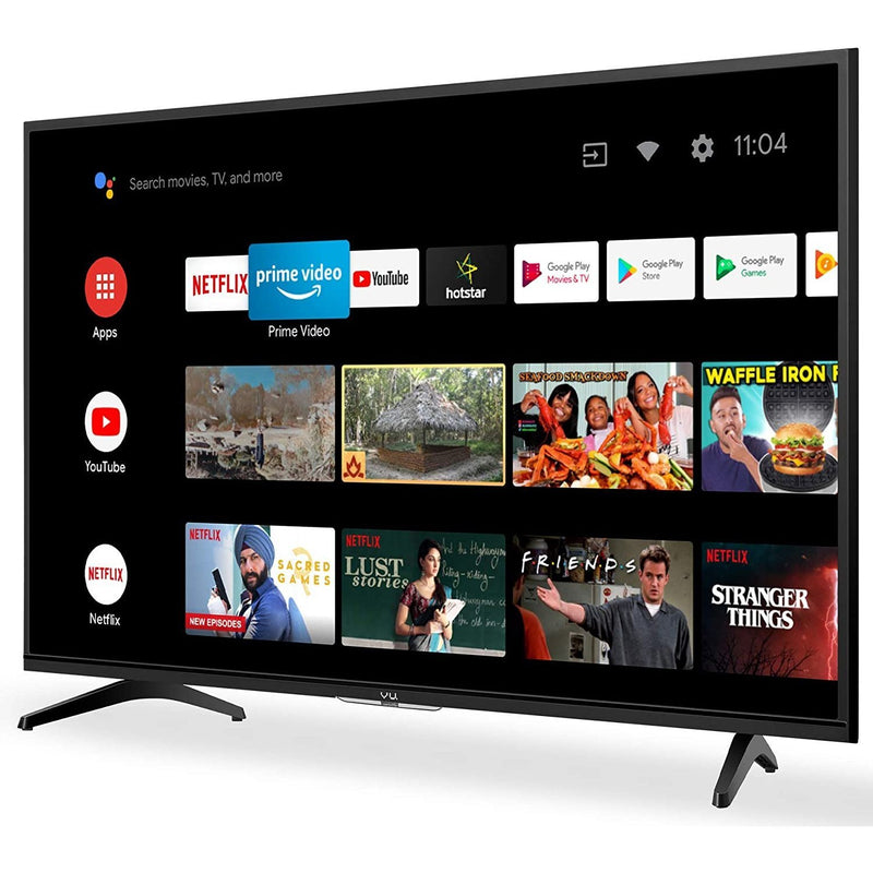 VU_ Certified Android Series TV Black 43GA VU