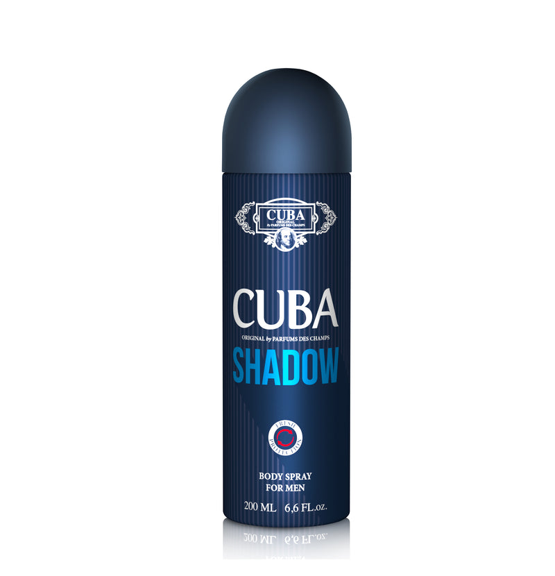 Cuba Shadow (M) Body Spray 200 ml Spr.
