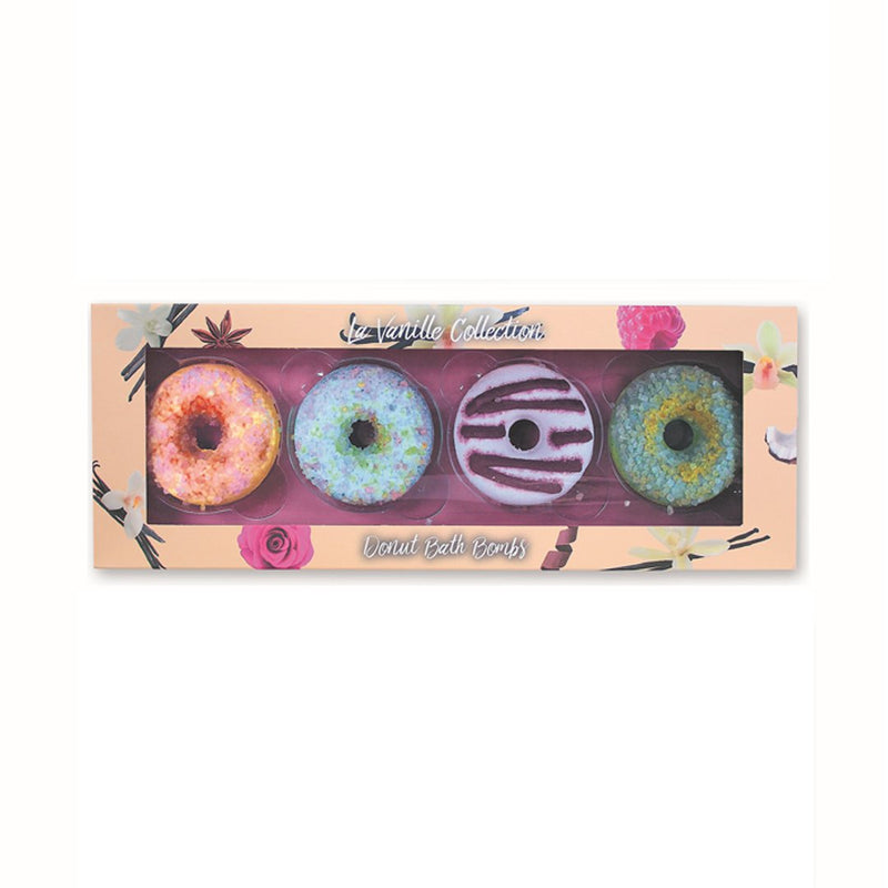 Donut Bath Bombs Vanille Peach Collection (L)