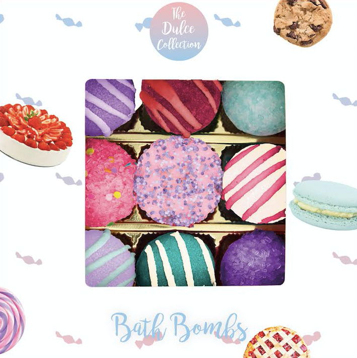 Bath Bombs Dulce Collection (L)