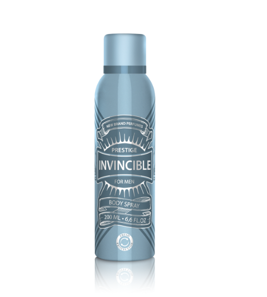Invincible (M) Body Spray 200 ml Spr.