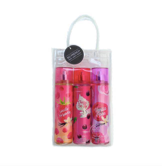 Set Body Spray 3 pc Spring Collection (L) 3 x 240 ml