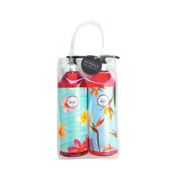 Set Bora Bora & South Beach Shower Gel (L) 800 ml x 2