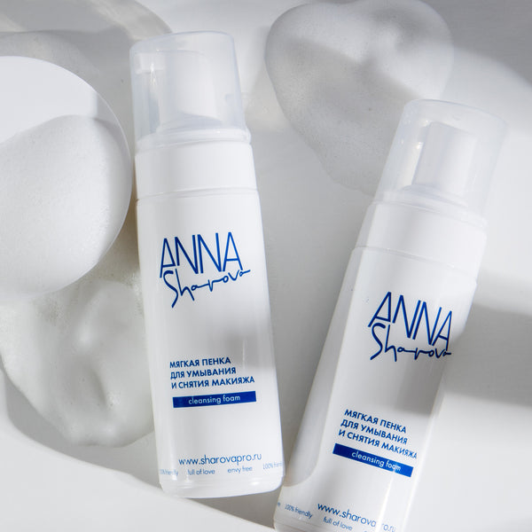 ANNA SHAROVA SOFT CLEANSING FOAM