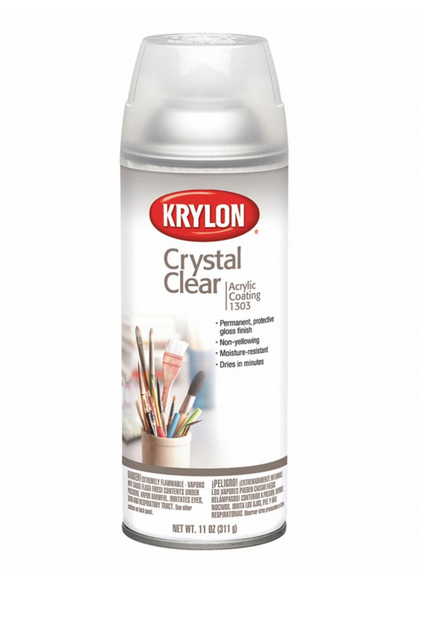 Crystal Clear Krylon 11oz