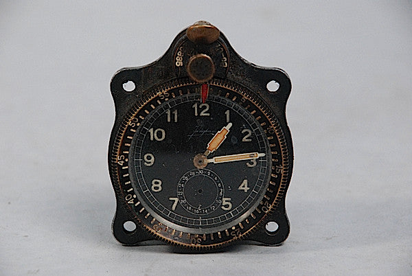 Clock From German Heinkel Bomber Aircraft Shot Down Over Stalingrad 1942