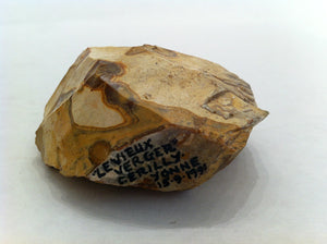 Pear Shaped Hand Axe, France, Lower Paleolithic