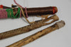 3 EARLY NORTHERN PLAINS INDIAN DANCE WANDS
