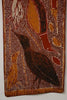 Aboriginal Birds Fish Bark Painting